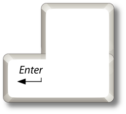 PC Enter key