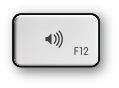 Mac F12 and volume up key