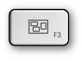 Mac F3 and Expose key