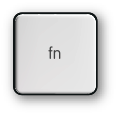 Mac fn (function) key