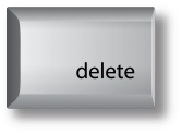 Mac delete key