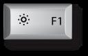 Mac F1 키