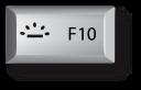 Mac F10 키