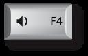 Mac F4 키