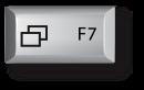 Mac F7 키