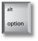 Mac Option key