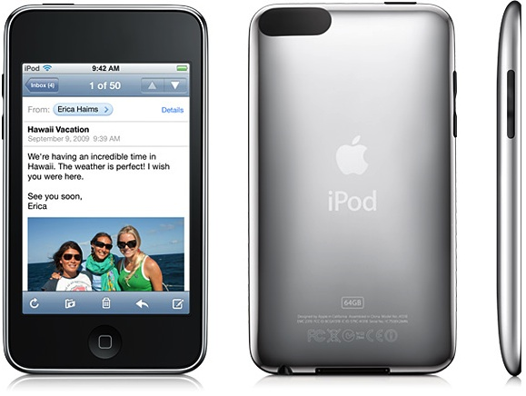 In the text below the engraving, look for the model number. iPod touch (2nd
