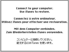 use itunes to restore