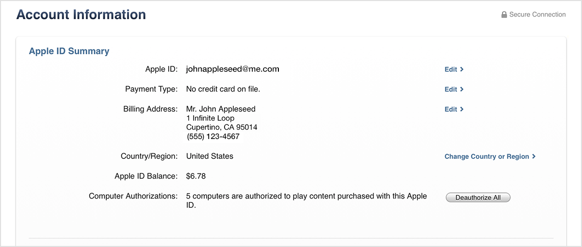 how to see who is using my itunes account