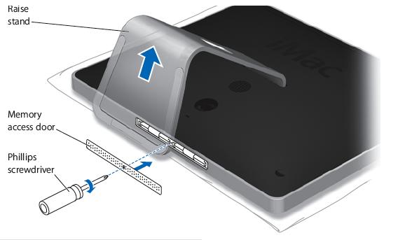 Reinstall the memory access door