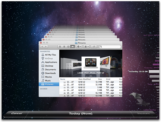 what is the time machine on mac