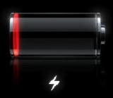 電池電量低