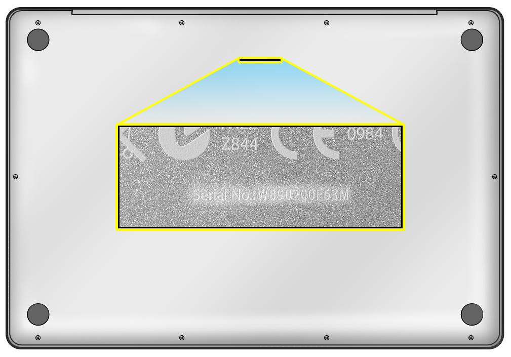 Lookup Macbook Serial Number