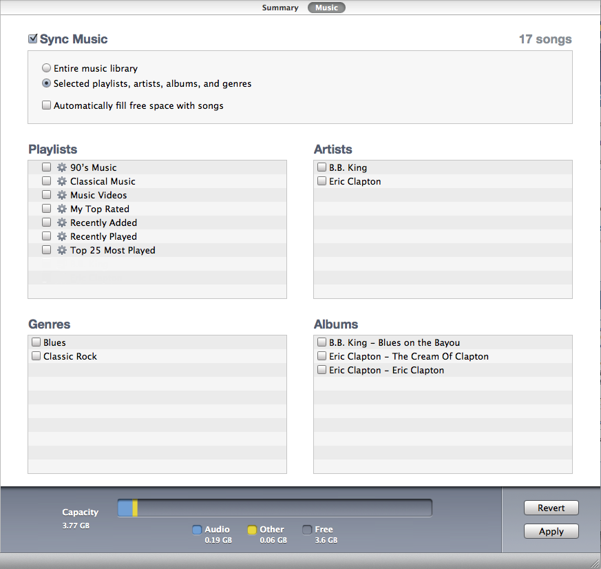 How to Sync Music to iPod On iTunes