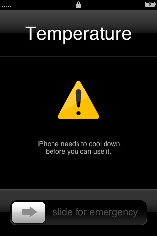 iPhone Cool Down