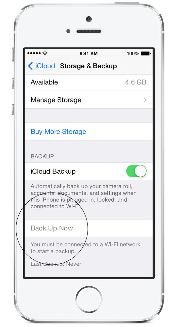 how to make icloud backup faster