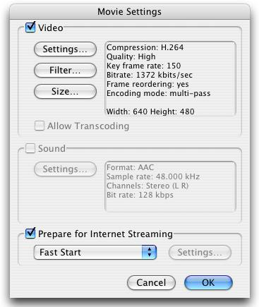 How to generate correct MP4 streaming file on Mac? - YouTube Help