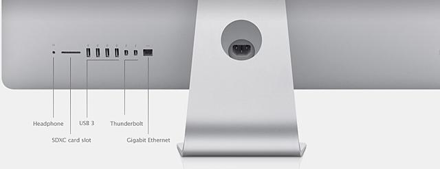 Back of iMac (Mid 2011)