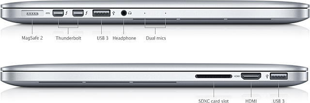 MacBook (13-inch, Mid 2010): External ports and connectors - Audio ...