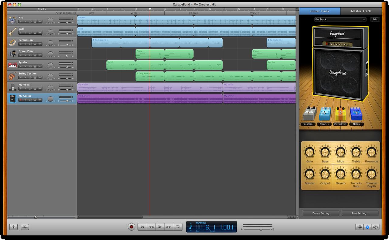 GarageBand for Mac - Apple