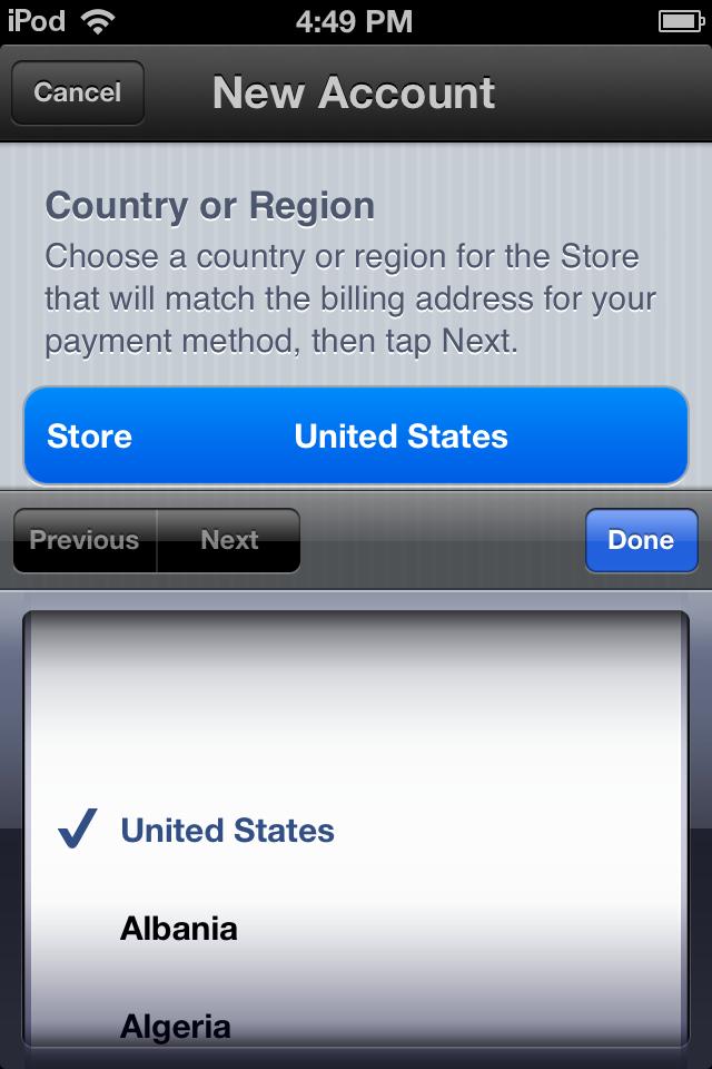 Cách tạo tài khoản Apple ID trên iPhone mua app miễn phí