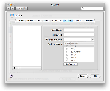 how to change network settings from mac
