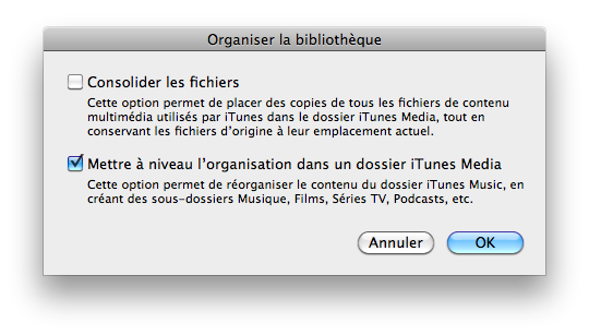 Ancienne Version Itunes