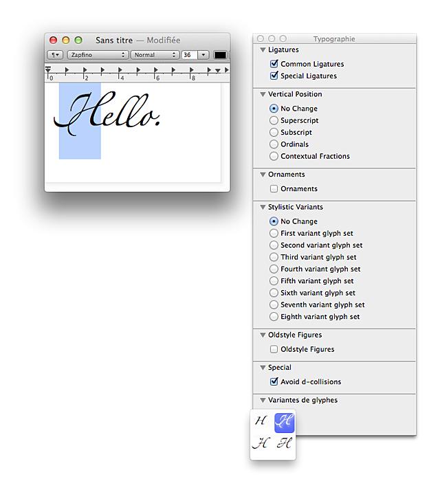 Os x affichage de commandes suppl mentaires dans la for Reduire fenetre mac