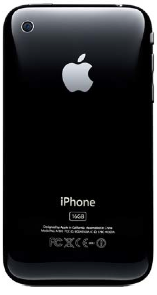 Back of iPhone 3GS