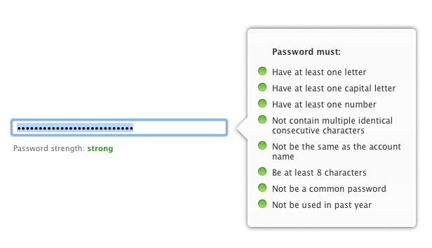 how to know if your password is strong