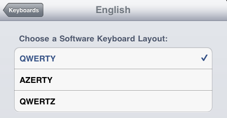 HT4509 iPad 4.2.1 Software Keyboards