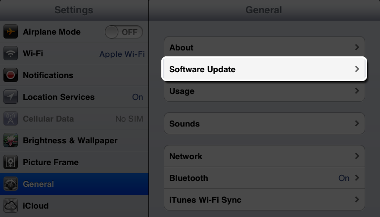 How to Update iOS Devices to newest Apple Operating system release