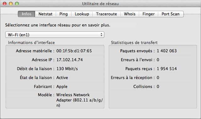 Wi fi d pannage de la connexion wi fi for Fenetre utilitaire mac