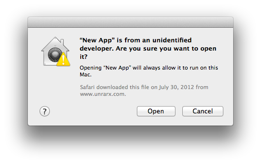 how to change mac security preferences to allow unidentified developers