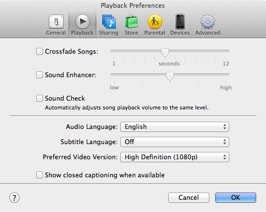 how to change itunes language settings
