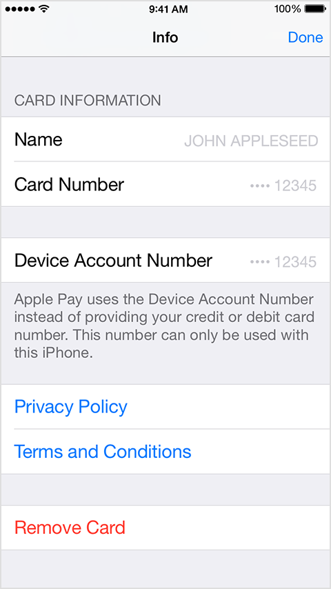how do i delete or edit a credit card in apple community