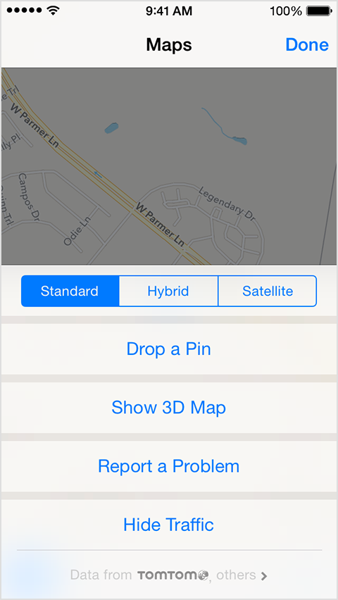 how to get maps on iphone to talk
