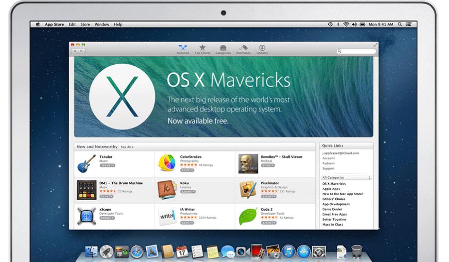 ОС OS X Mavericks