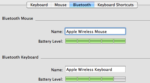 display battery on desktop