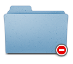 Finder folder access denied