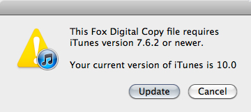 how to add digital copy to itunes