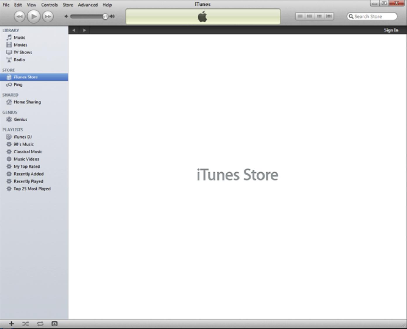 La tienda iTunes Store no se carga debido a una modificación de Windows