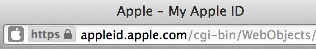 Lock icon example