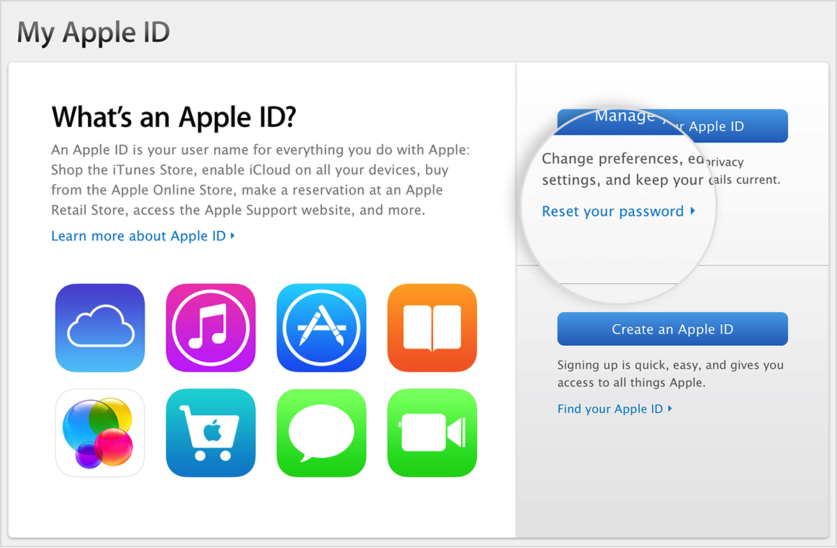 Apple ID 화면