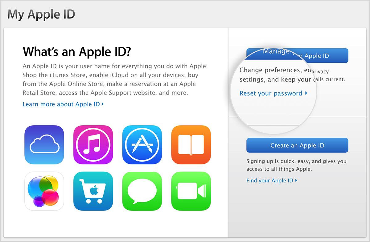 Pantalla ¿Qué es un ID de Apple?