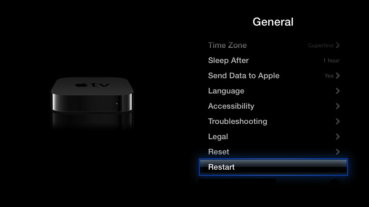 FX NOW won't load on my Apple TV - Apple Community
