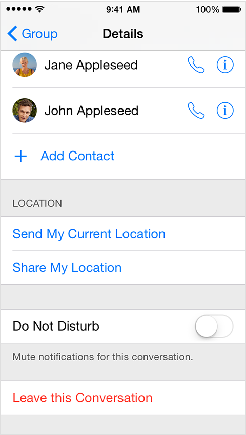 On Ios 8 Can T Add A Person To A Group T Apple Community