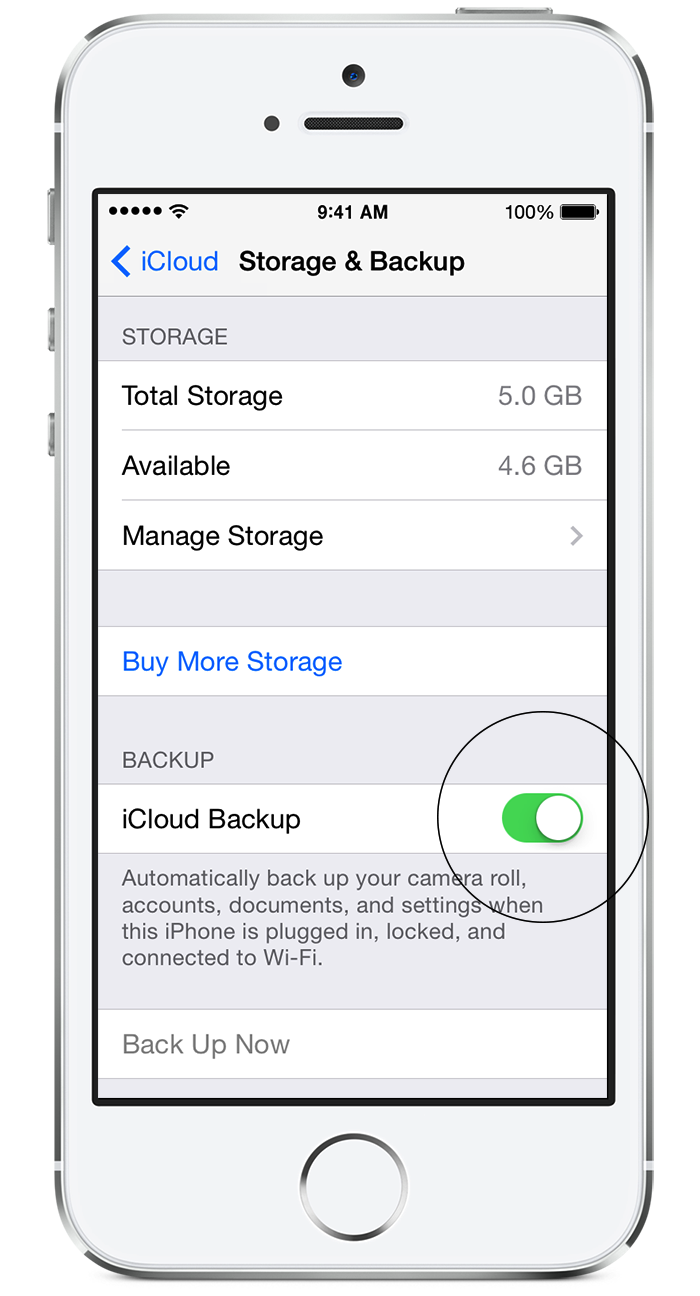 Move backup from icloud to itunes kioskea
