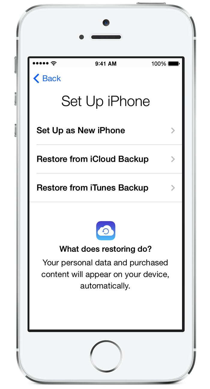 iphone restore from backup apple iphone 5 how to reset apple id on iphone 5 2902