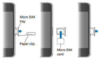 take sim card out of iphone 5 remove the sim card from your iphone or apple support 8868